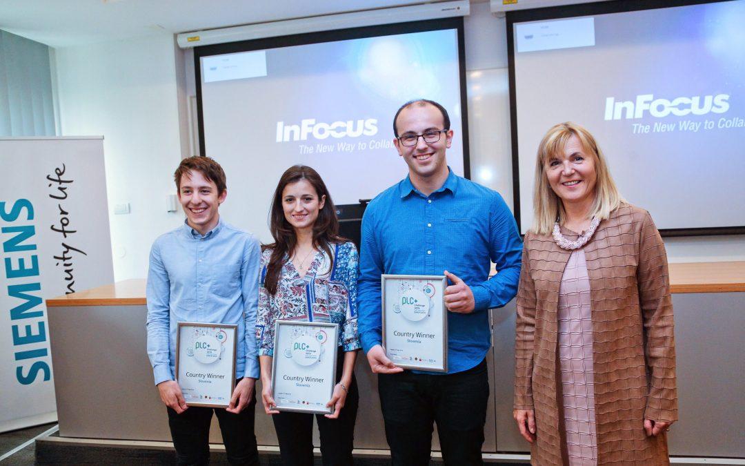 Študentje Fakultete za elektrotehniko uspešno zaključili regionalno tekmovanje PLC+ Challenge 2019
